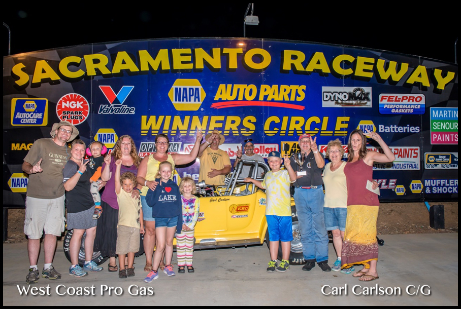 2016 Race 10 C:G Winner Carl Carlson