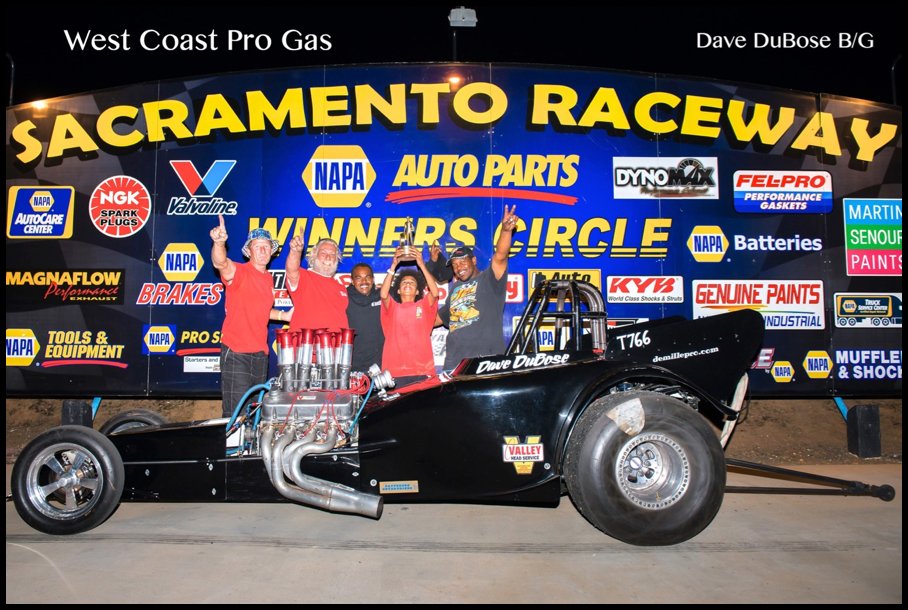 2016 Race 2 B:G Winner Dave DuBose
