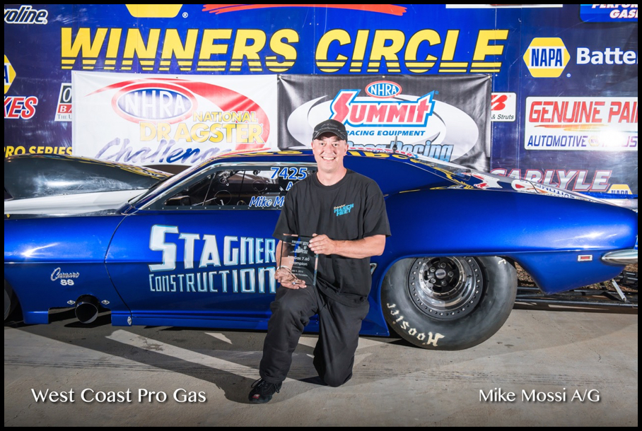 2016 Race 6 A:G Winner Mike Mossi