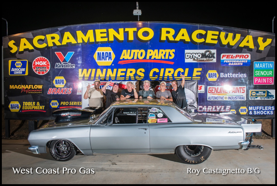 2016 Race 6 B:G Winner Roy Castagnetto